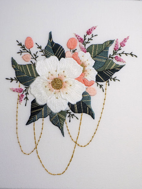 Amelia hand embroidery designs