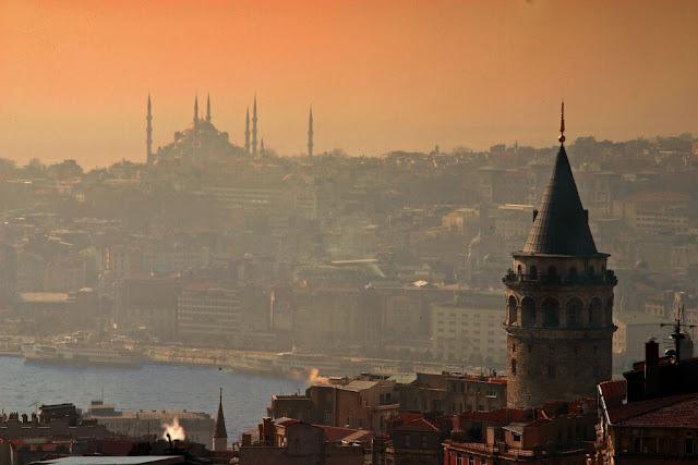 Torre Gálata em Istambul na Turquia