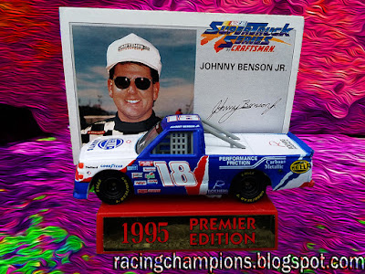 Johnny Benson #18 Truck 1995 Racing Champions 1/64 NASCAR diecast blog Kurt Roehrig Truck Series