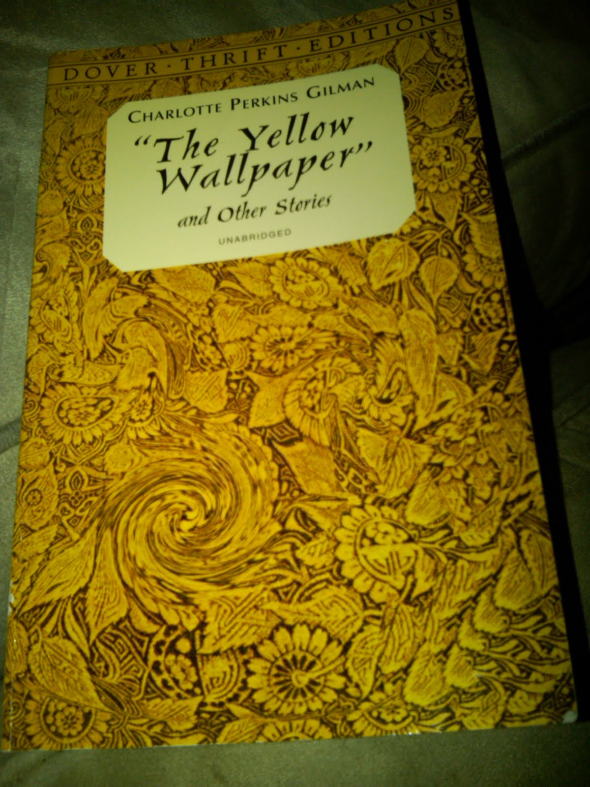 Excellent The Yellow Wallpaper Pdf