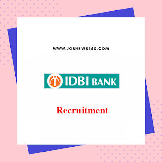 IDBI Bank Recruitment 2019 for DMD posts (2 Vacancies)