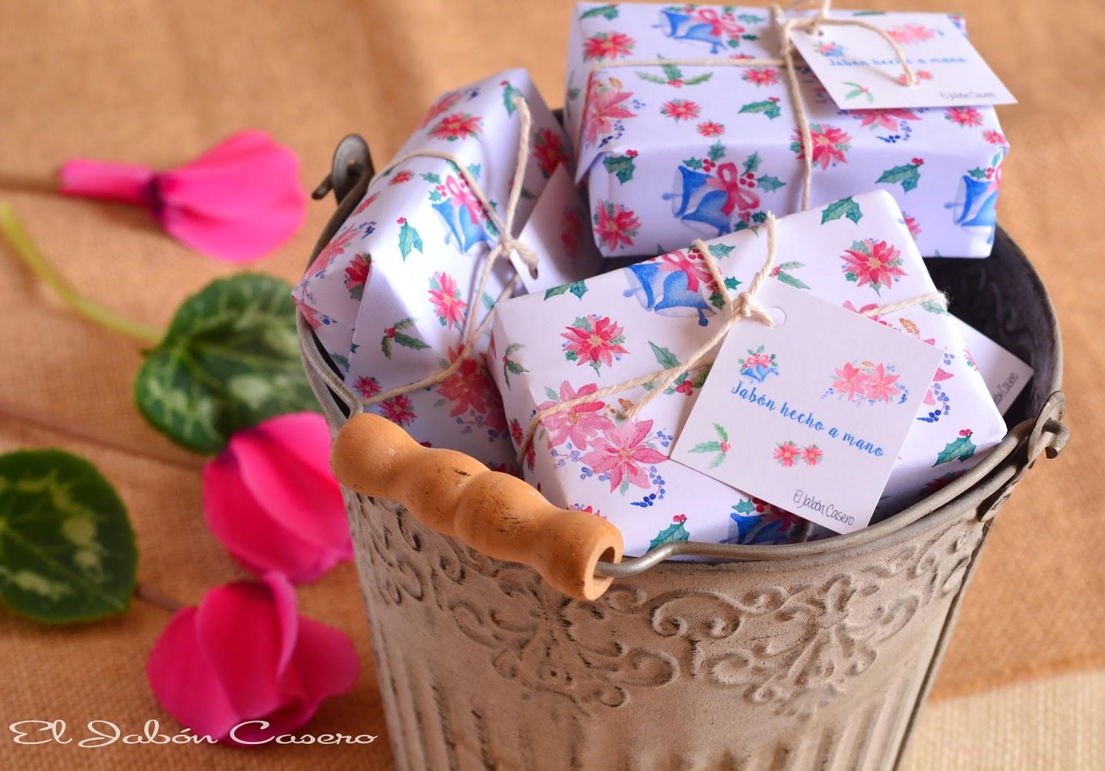 regalos para la navidad el jabon casero