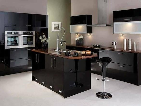 Desain Dapur Minimalis Mewah Elegant 32