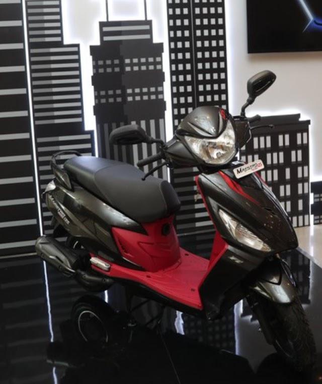 hero launch maestro edge 125 and pleasure plus 110 in indien market.