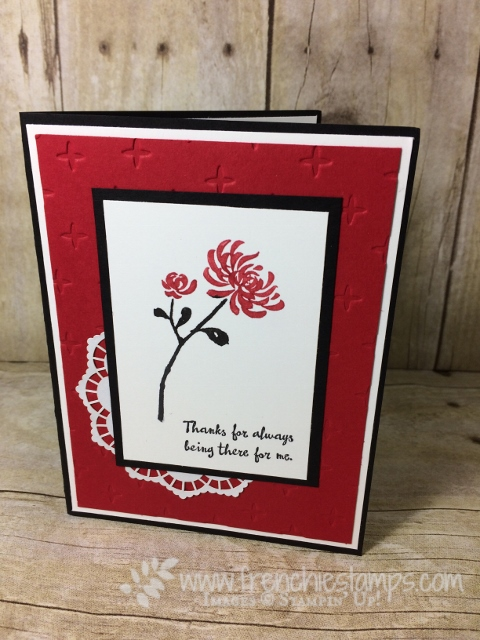 Artistically Asian, Stampin'Up!, Clean and Simple Card, Frenchiestamps,#Artistically Asian, #Stampin'Up!, #CleanandSimpleCard, #frenchiestamps