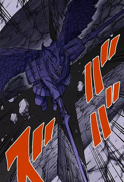 Gambar Susanoo Sempurna milik Sasuke Uchiha