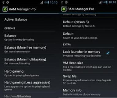 Cara menambah RAM di Android 3
