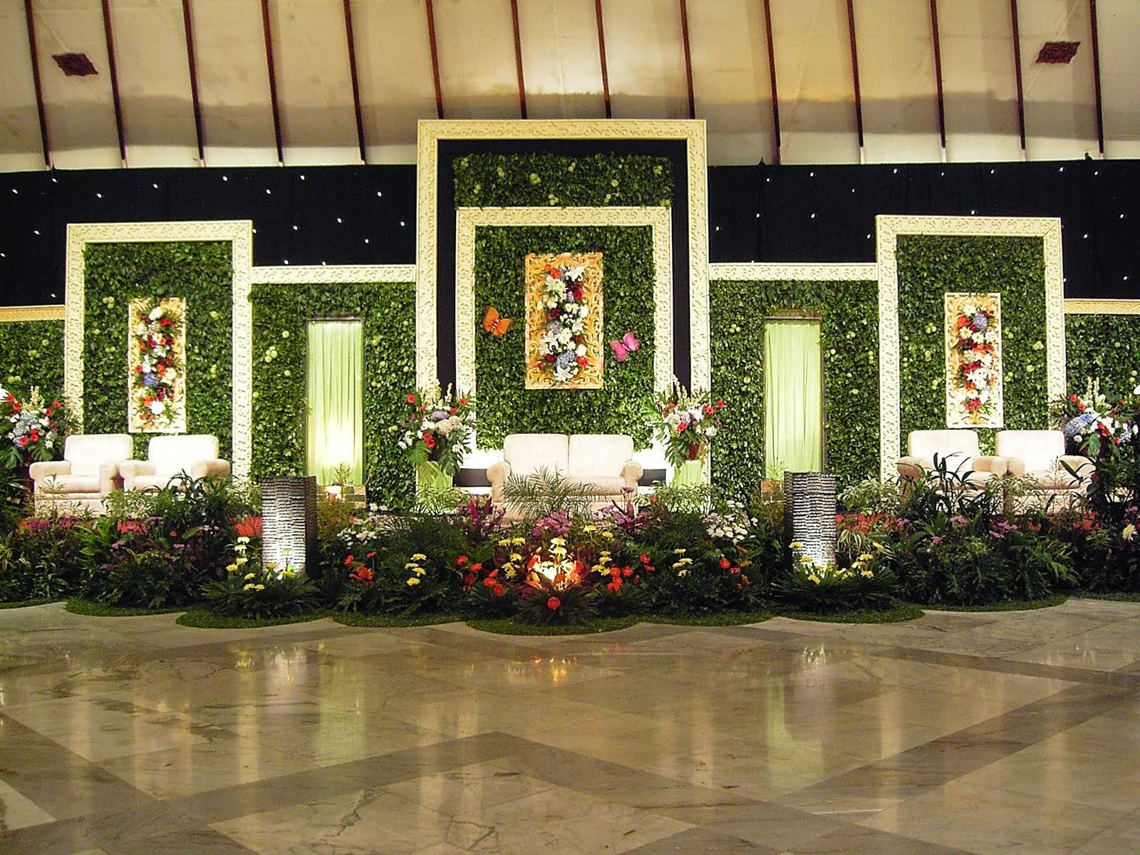55 Gambar Dekorasi Pelaminan Minimalis Modern Dan Klasik  Desainrumahnya.com