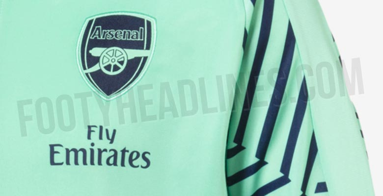 be64c77c7df Update: Arsenal 18-19 Third Kit Colors, Info & Collection Leaked