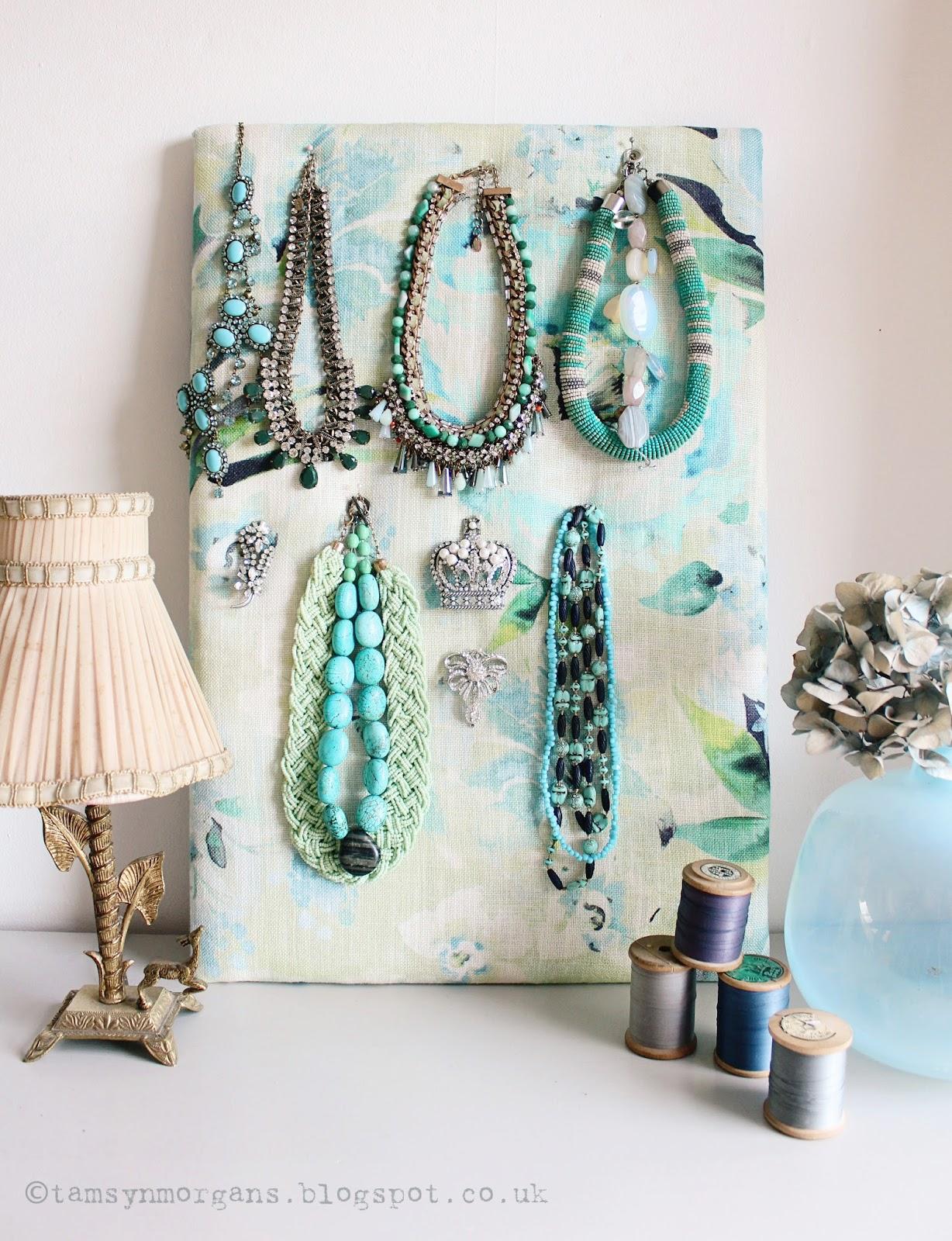Jewellery Pin Board