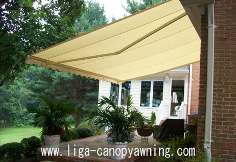 canopy kain dengan keindahan