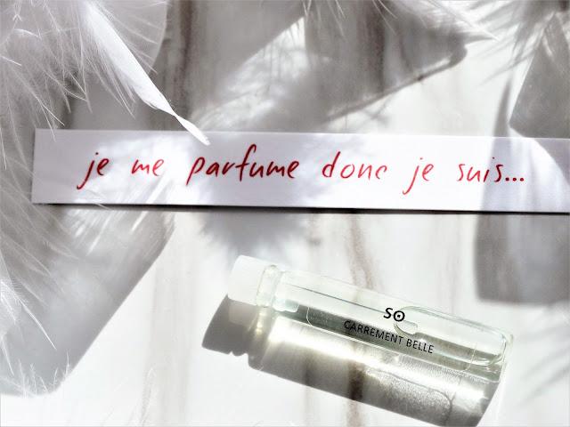 avis So de Carrément Belle, parfum femme, parfum homme, blog parfum, avis parfum, perfume review