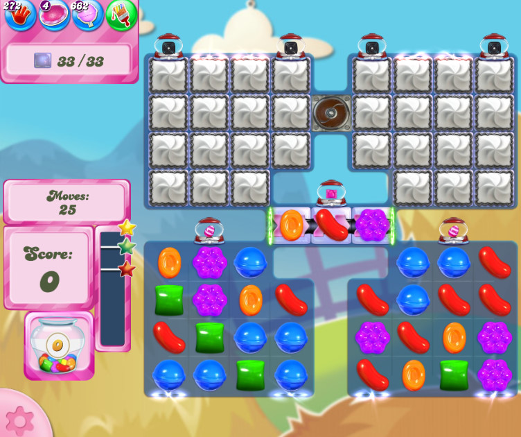 Candy Crush Saga level 2700