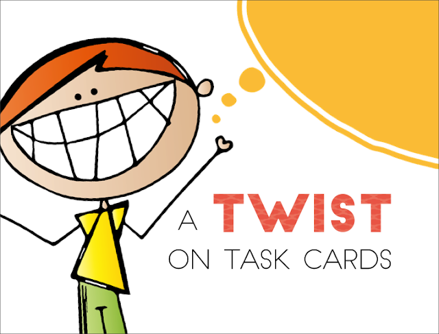 different ways to use task cards in the classroom