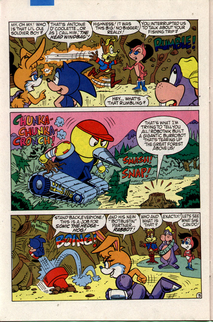 Read online Sonic The Hedgehog comic -  Issue #3 - 23