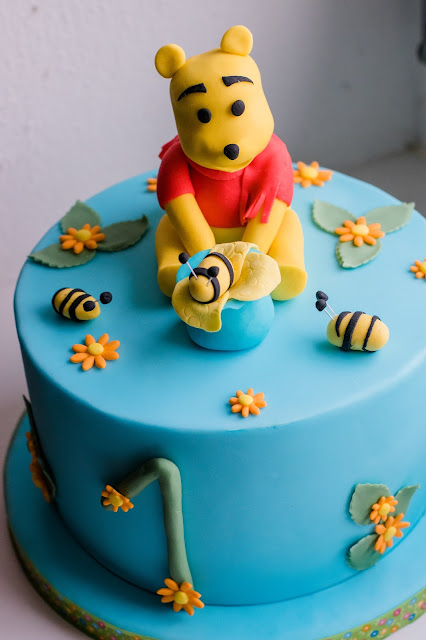 Winnie the Pooh Torte fr 1 Geburtstag