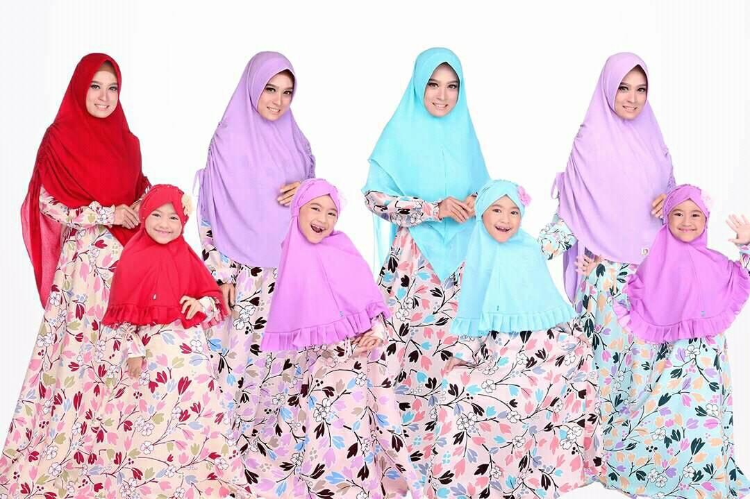 Gamis Hasna Gamis Couple Ibu Anak Dari Bayi Banget Hijab Wa