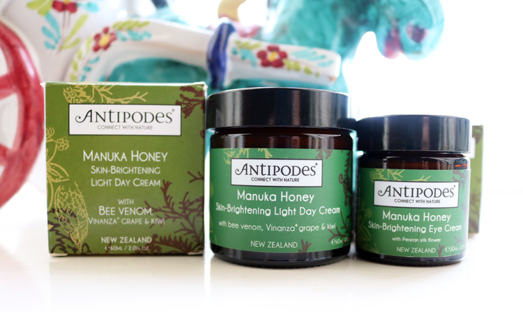 Antipodes Manuka Honey Light Day Cream & Eye Cream review