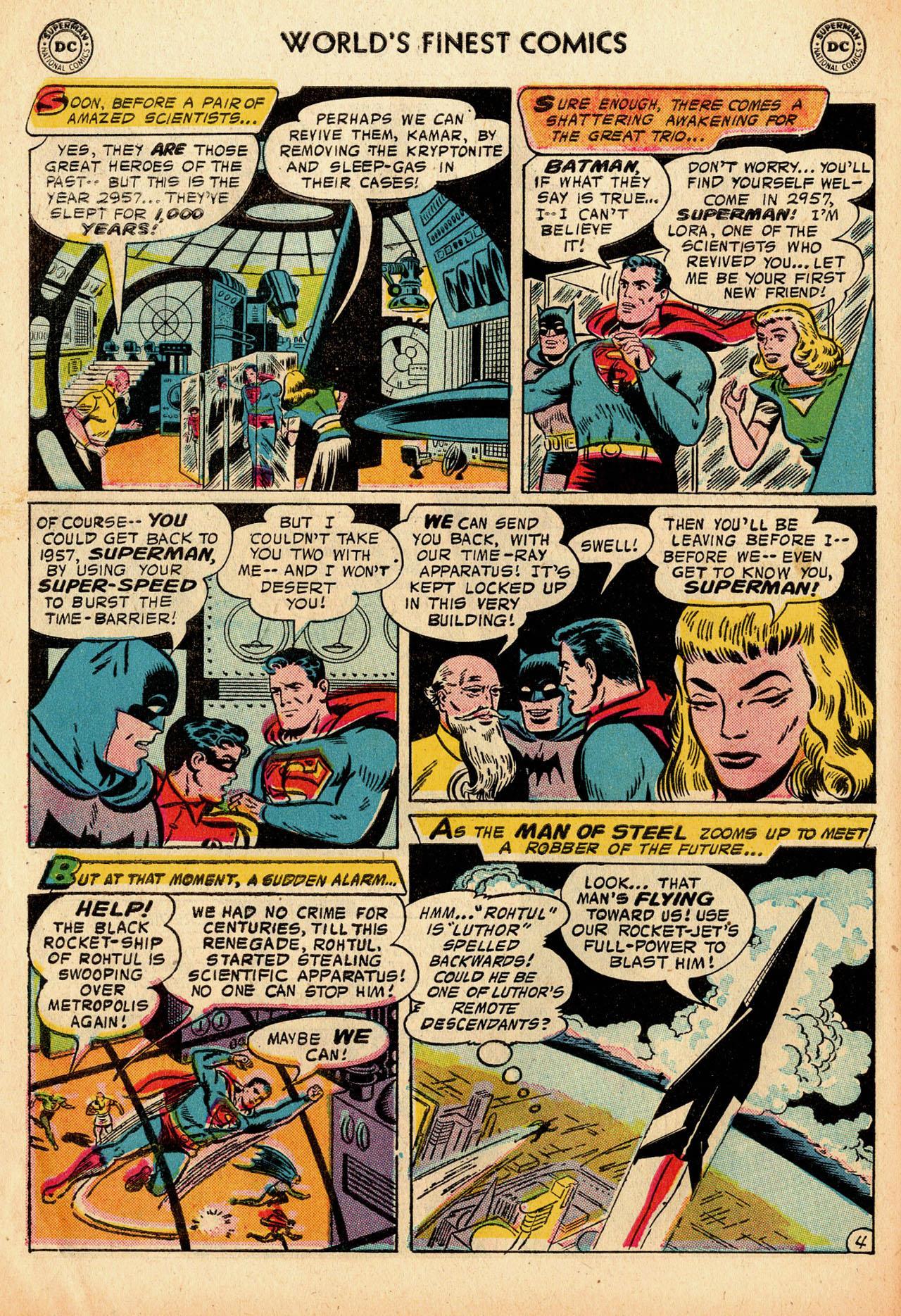 Read online World's Finest Comics comic -  Issue #91 - 6