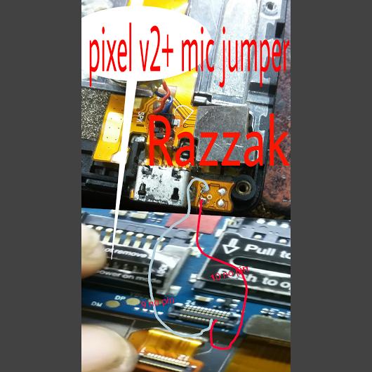 LAVA Pixel V2+ Mic Solution 100% OK - Razzak Mobile Saver