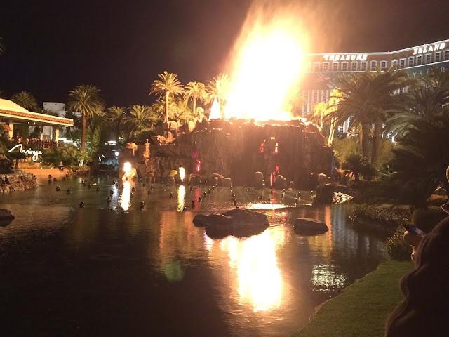 Las Vegas - Mirage Hotel Vulkan