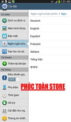 Tiếng Việt Samsung T217A alt