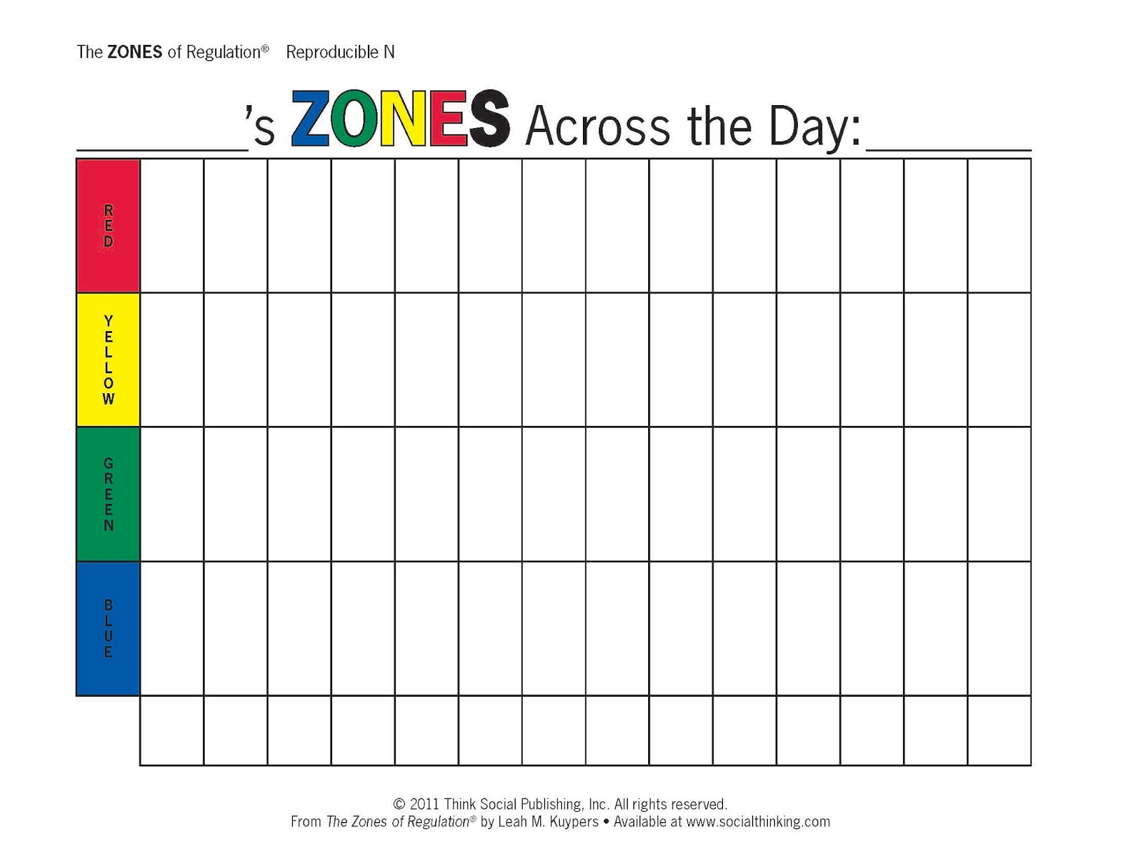 Foothills Camp Amicus Zones Of Regulation