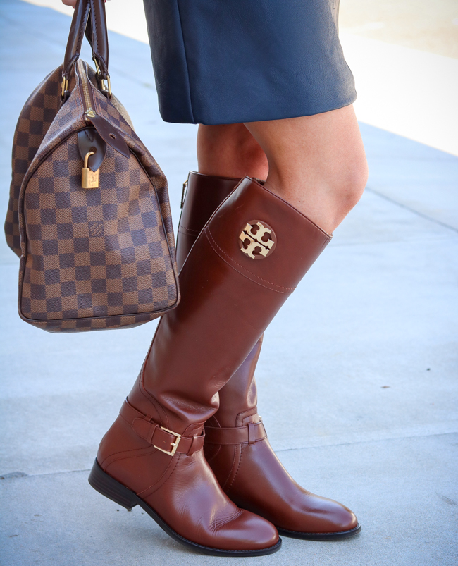 c59aaf30ac1 Styling Tory Burch Boots For Fall - Pardon Muah