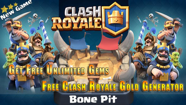 Clash Royale Free Chest, Gold and Gems