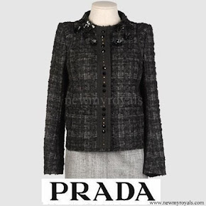 Princess Mette Marit wore PRADA wool jacket