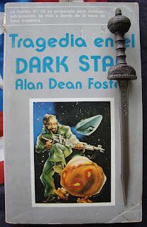 Portada del libro Tragedia en el Dark Star, de Alan Dean Foster