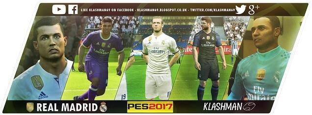 Real Madrid Club World Champions 2016 Kit PES 2017