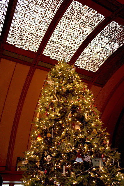 Christmas celebrated in the Frank Lloyd Wright Home