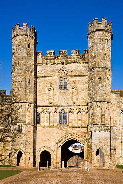 The Battle Abbey Gatehouse is another well preserved section of the abbey. Photo: WikiMedia.org.
