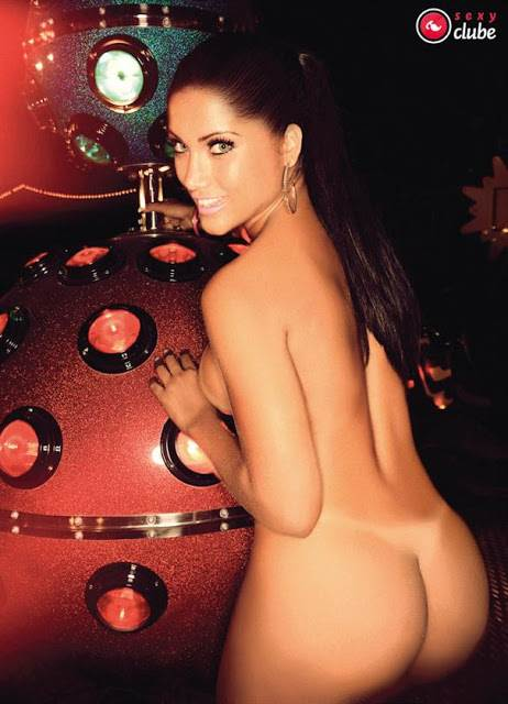 Bailarinas do Faustão peladas nuas na sexy 6