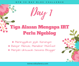 Ibu rumah tangga, alasan ngeblog, blogger