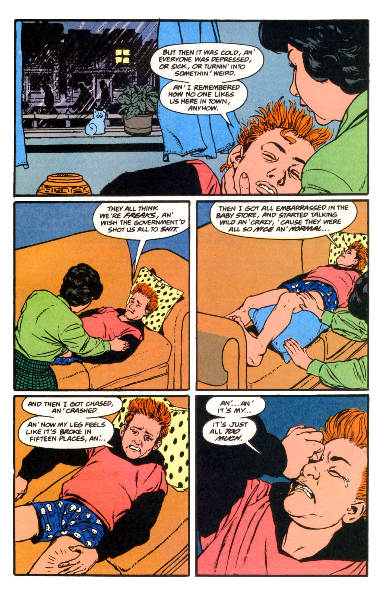 Read online Animal Man (1988) comic -  Issue #67 - 21