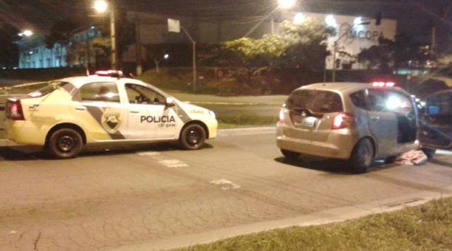 Assaltante é morto ao apontar arma de brinquedo para a polícia