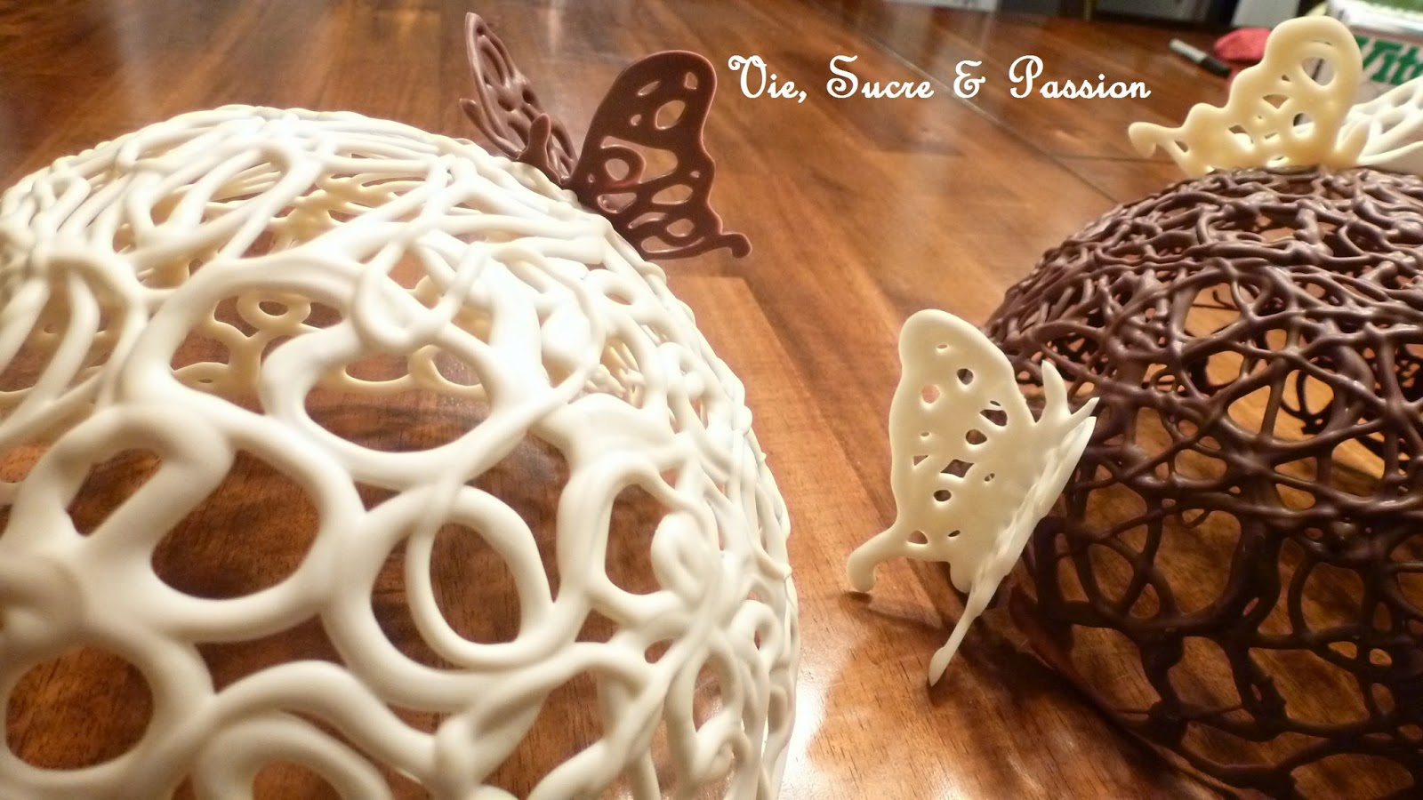 Chocolate Domes and Butterflies