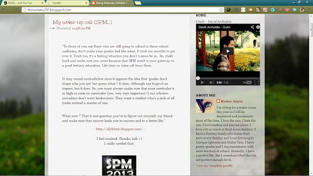 Anis Athirah's blog