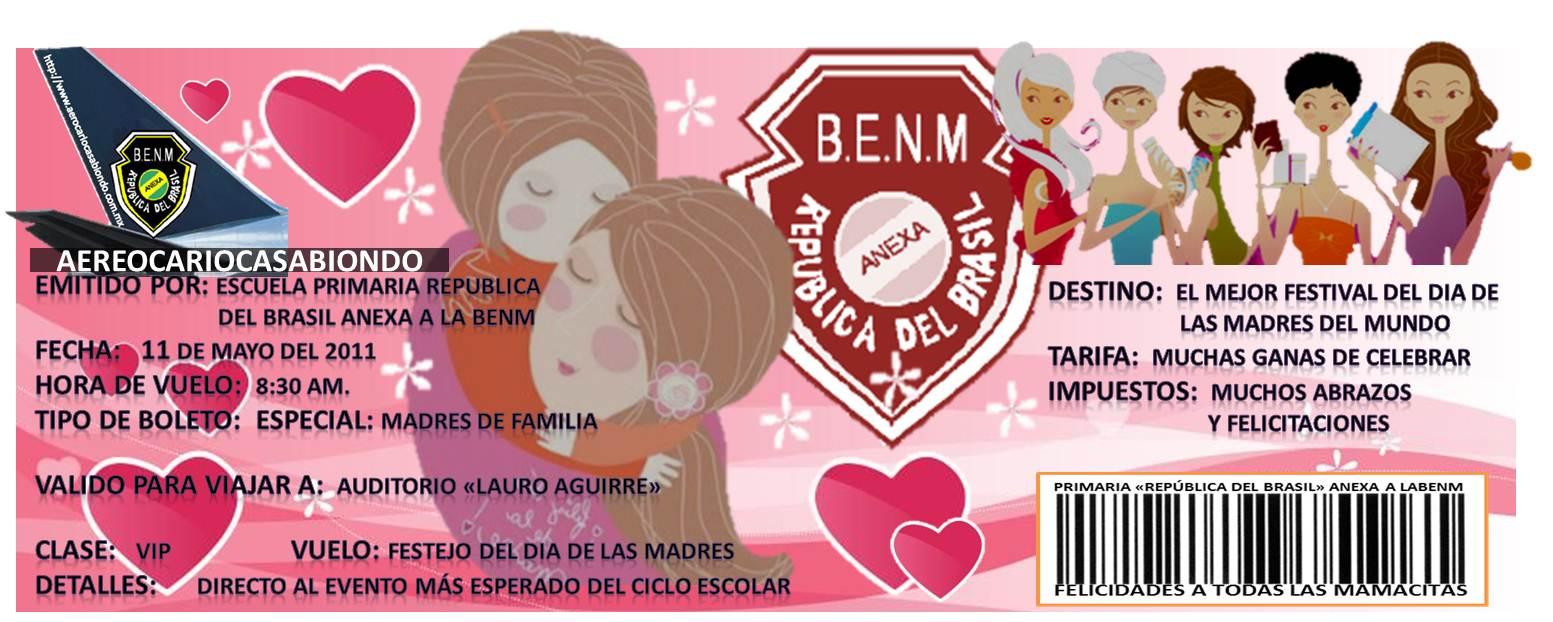 Bingo Show Dia De La Madre Viernes 11 De Mayo: Invitacion Para Festival De Dia De Las Madres