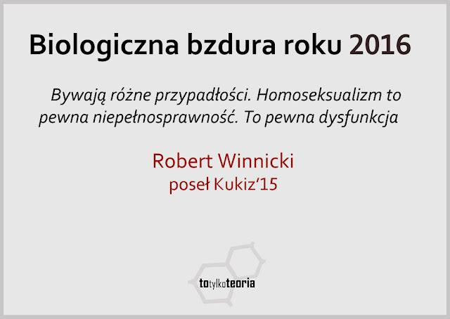 Robert Winnicki homoseksualizm Kukiz15