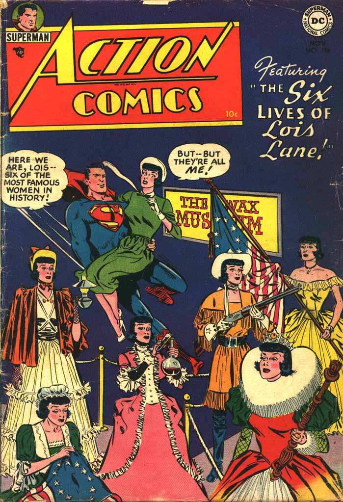 Read online Action Comics (1938) comic -  Issue #198 - 1