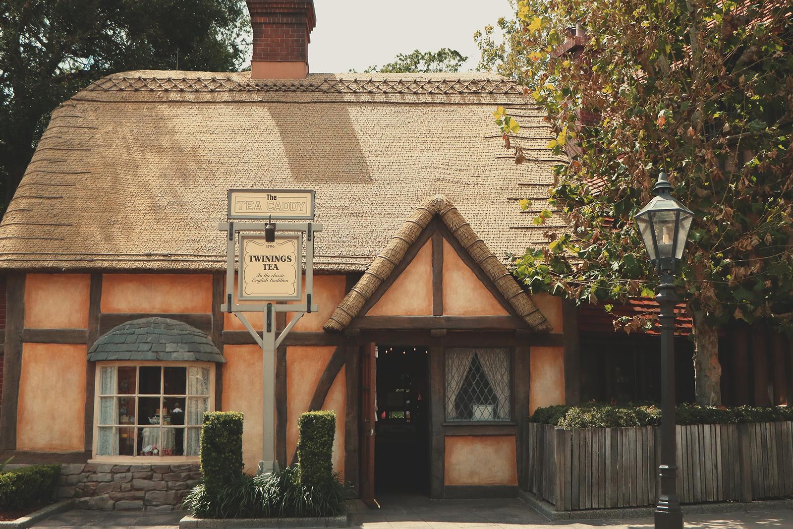 casa de chá twinings no epcot