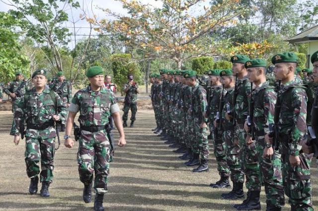 Pergantian Satgas, 900 Anggota TNI di Tempatkan di Perbatasan RI-PNG Merauke