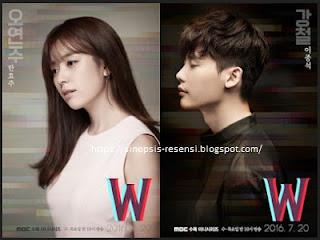 Sinopsis Drama Korea W Webtoon, W, Webtoon, Lee Jong Suk