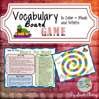 Vocabulary Board Game