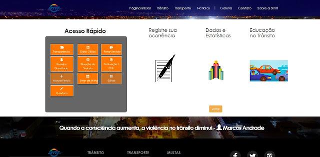 Alagoinhas: SMTT moderniza atendimento e lança site durante Semana Nacional de Trânsito