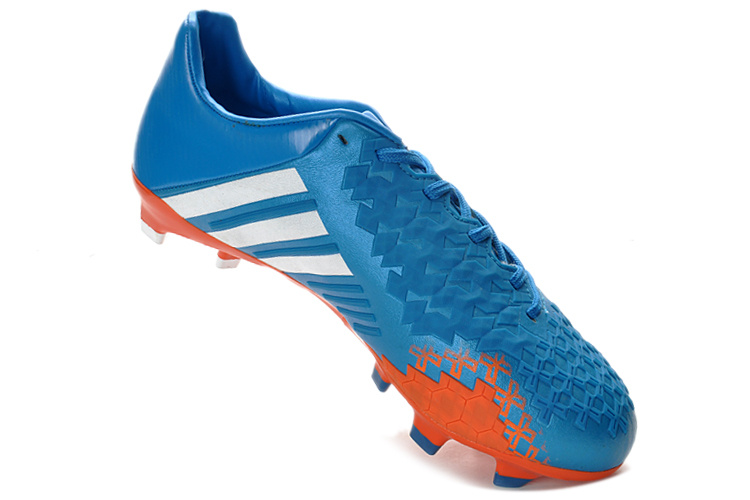 ... spain 2013 new release adidas predator 13 fg brightblue white orange  for sale. release adidas 5eb45ae1c