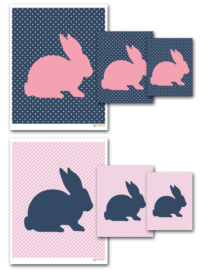 graphic about Free Printable Silhouettes called No cost Printable Easter Bunny Silhouette i should really be mopping